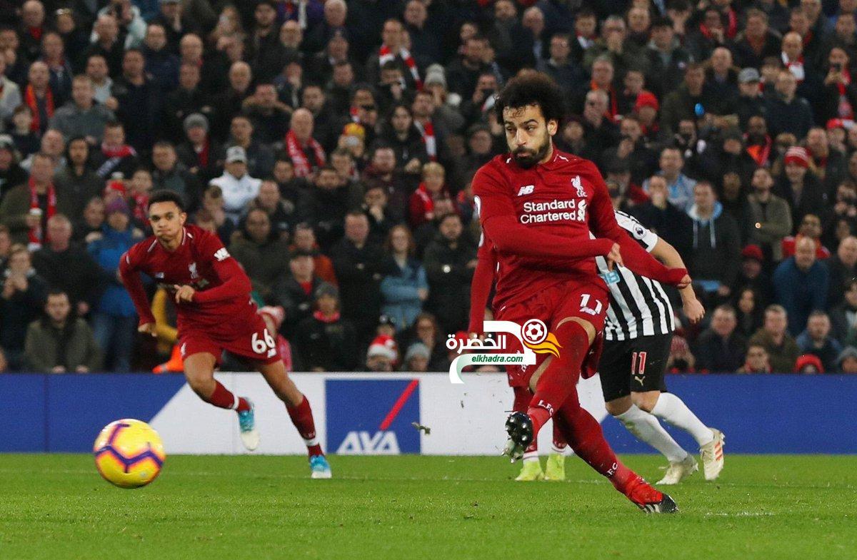 ليفربول يفوز على نيوكاسل برباعية ويعزز صدارته لجدول الدوري الإنجليزي 24