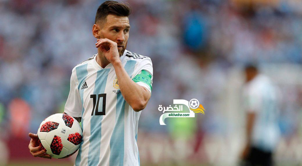 ميسي مع الأرجنتين .. نفس السيناريو يتكرر خسارة جديدة وفشل جديد  31