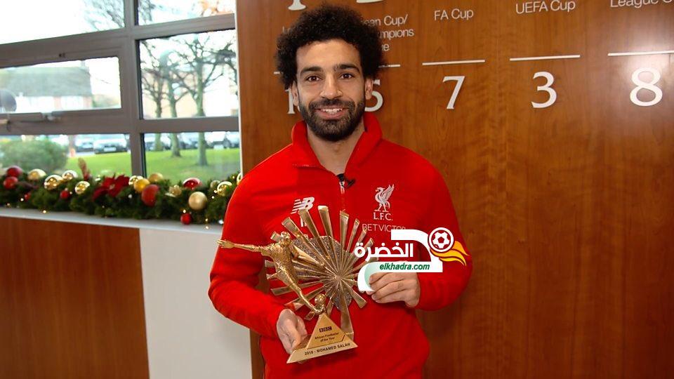 محمد صلاح يفوز بجائزة BBC لأفضل لاعب أفريقي 2018 34