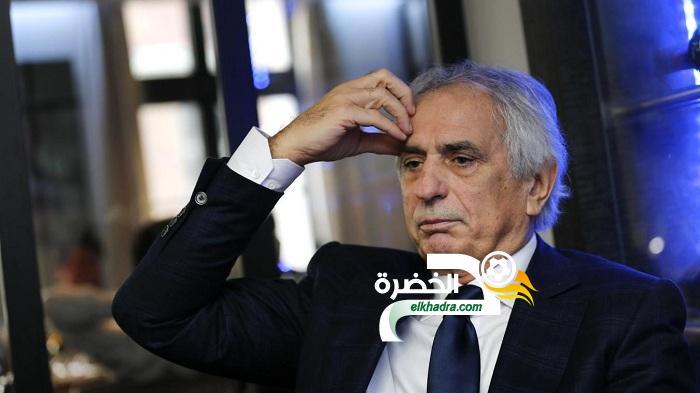 """وحيد حاليلوزيتش :"""" بلماضي يقوم بعمل جيد والجزائر ستعود معه للتألق قاريا """" 1"""