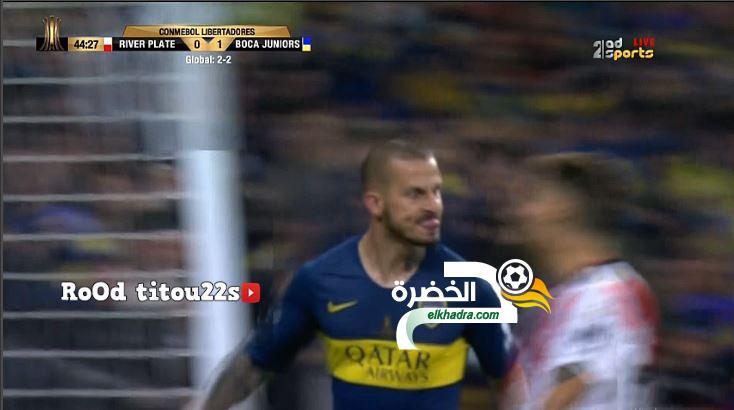 أهداف مباراة ريفر بليت 1-1 بوكا جونيورز 24