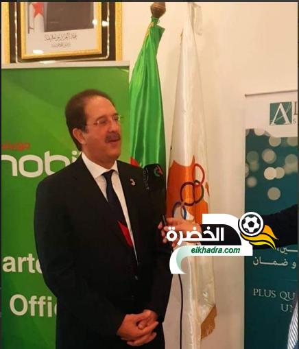 مصطفى براف : رئيس الكاف وقف ضدي في انتخابات اللجان الأولمبية 24