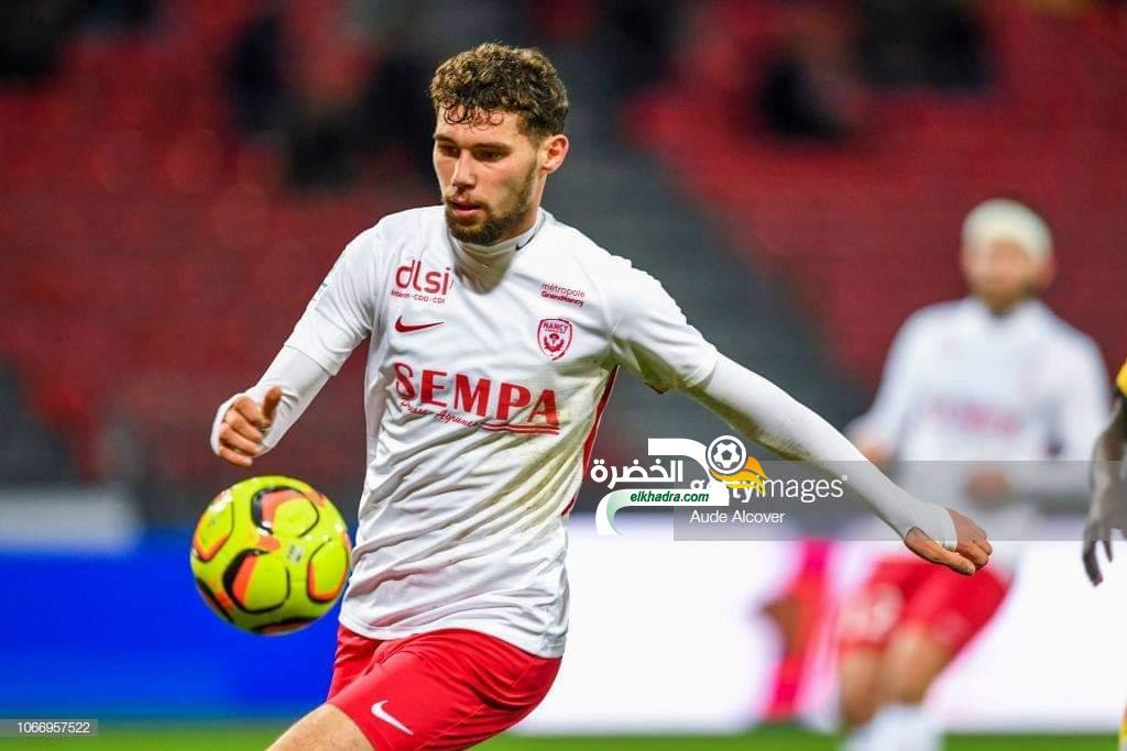 """الجزائري الشاب سمير بوزار :  سعيد بأول ظهور لي في الليغ2 الفرنسية """" 24"""