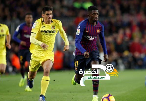 برشلونة يفوز على فياريال بهدفين 24