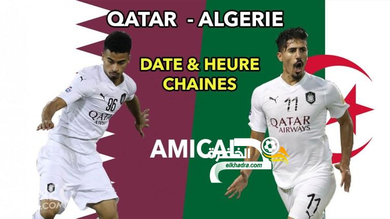 موعد وتوقيت مباراة قطر والجزائر اليوم 27/12/2018 والقنوات الناقلة 24