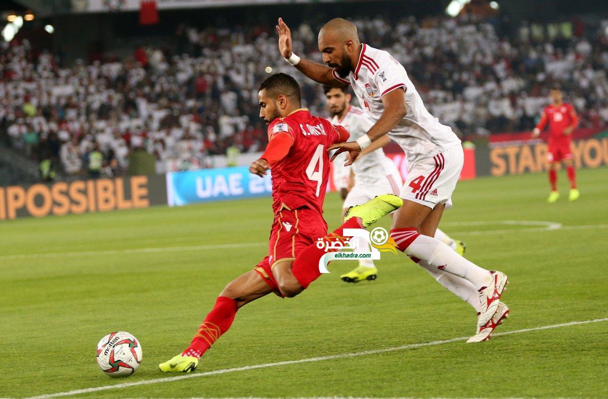 الإمارات 1-1 البحرين : التعادل يحسم افتتاح كأس آسيا 2019 24