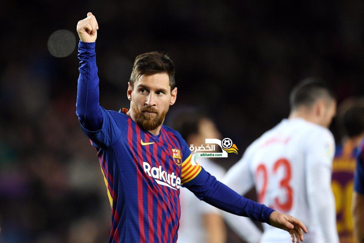 برشلونة يحقق فوزا سهلا على ضيفه إيبار 24