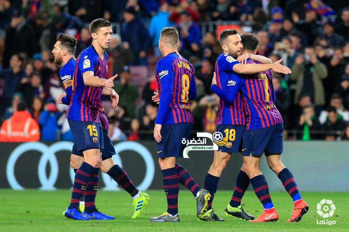 """كأس الملك : """"ريمونتادا"""" بسداسية من برشلونة في مرمى """"إشبيلية"""" 30"""