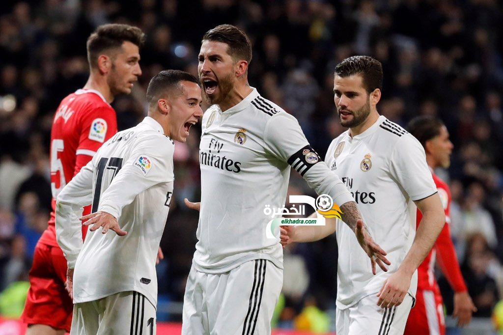 راموس يقود ريال مدريد لفوز كبير على جيرونا برباعية 24