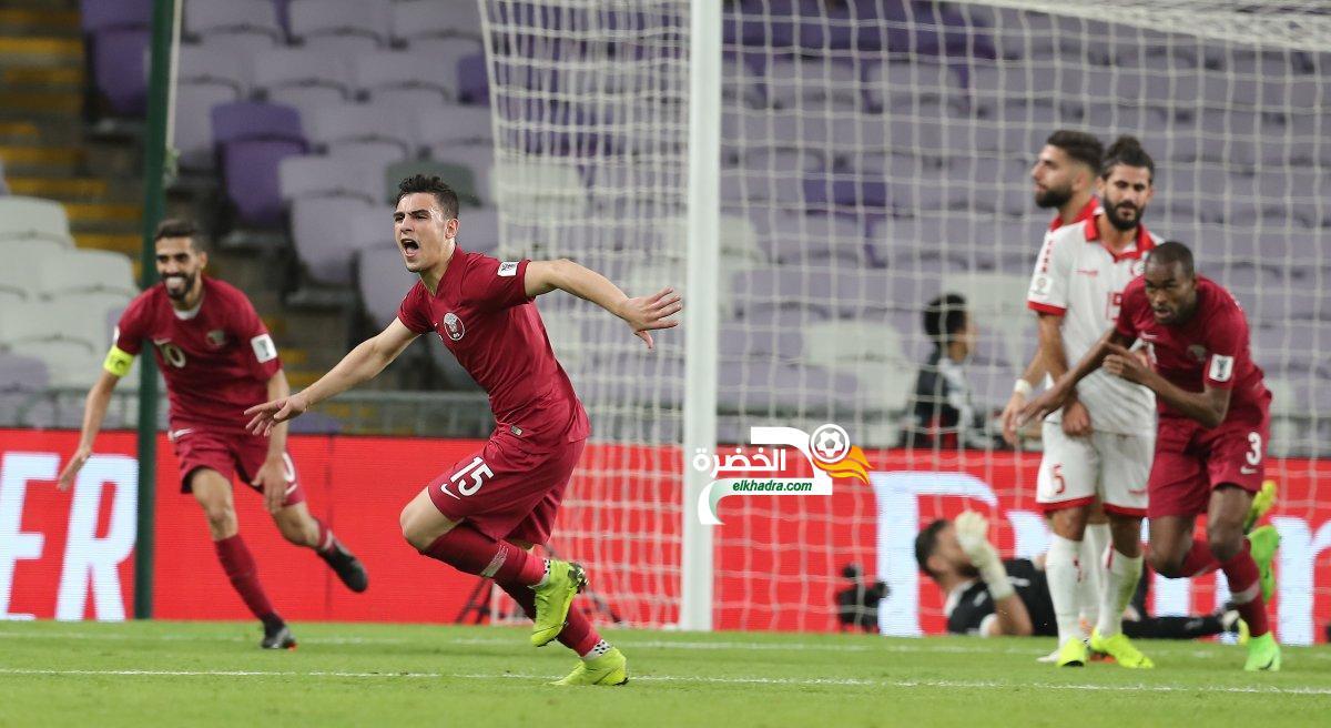قطر تستهل مشوار كأس آسيا بفوز ثمين على لبنان 24