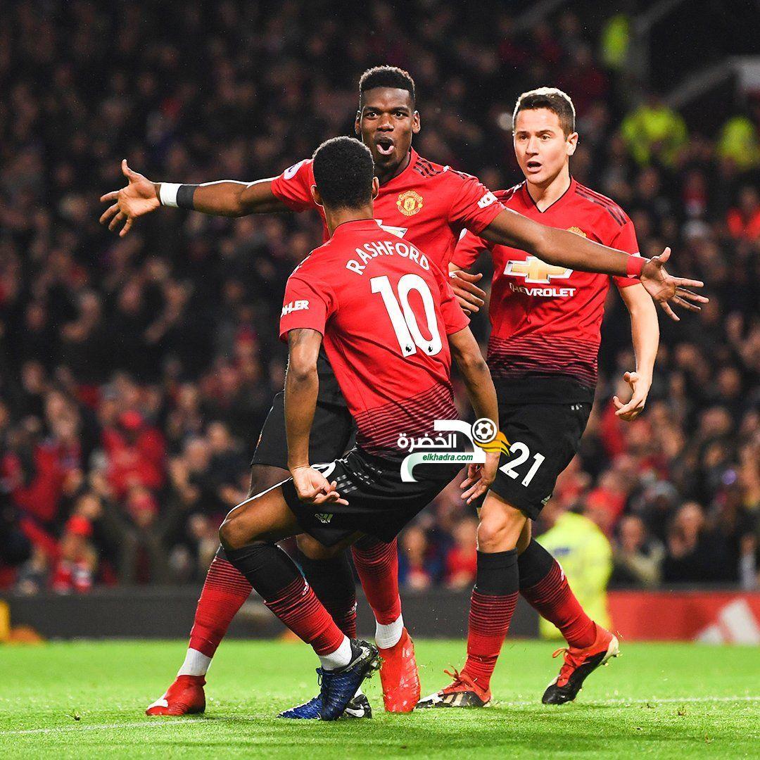 مانشستر يونايتد يحقق رابع انتصار على التوالي على حساب نيوكاسل يونايتد 24