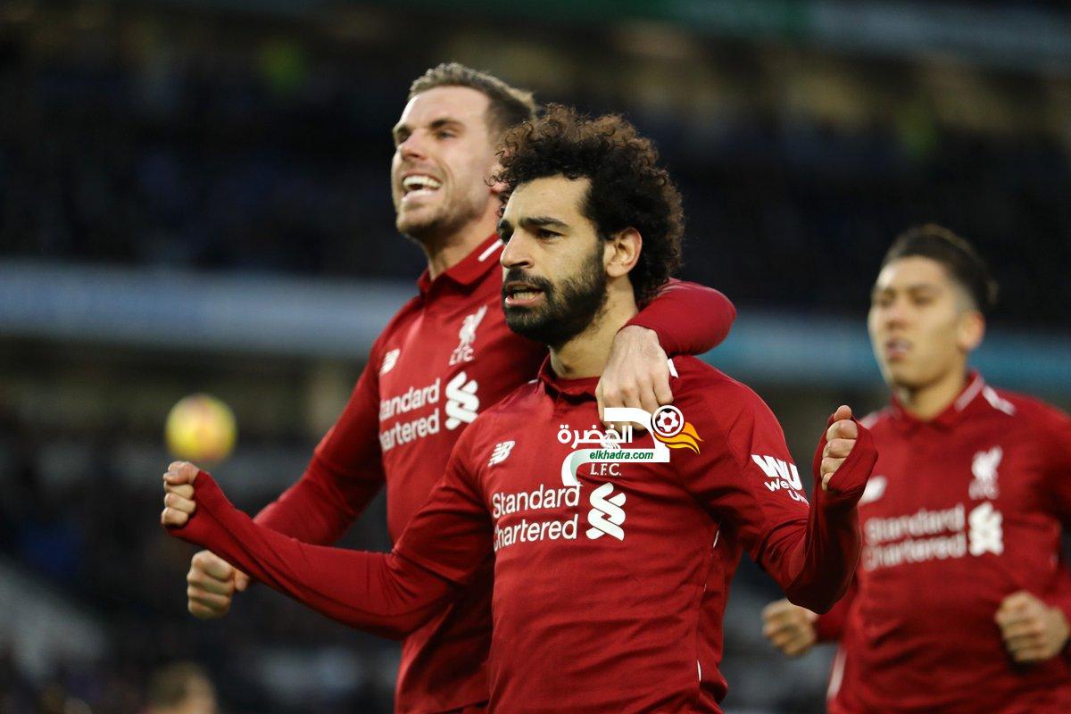 الدوري الإنجليزي: ليفربول يتخطى عتبة برايتون 24