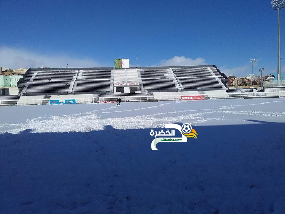 الثلوج تتسبب في تأجيل عدة مباريات في قسم الهواة 17