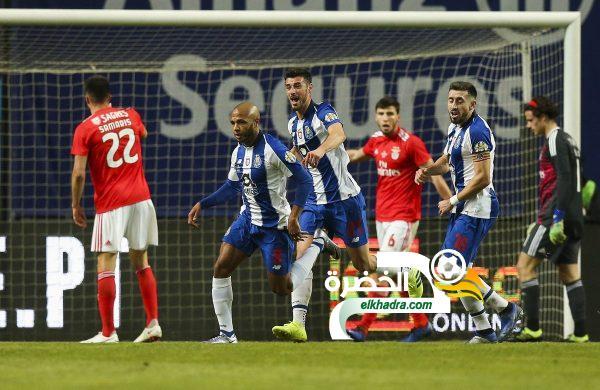 براهيمي هداف ضد بنفيكا وبورتو يتأهل لنهائي كأس البرتغال 34