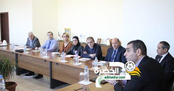 زطشي يجتمع مع رئيس اللجنة المركزية للتحكيم وممثلي الحكام 24