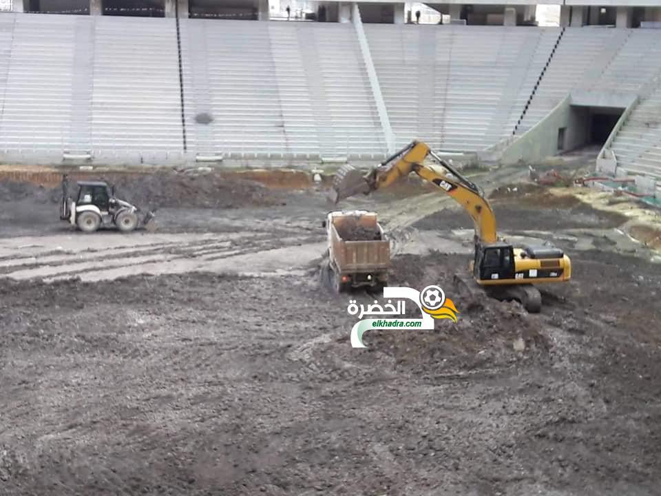 بالصور .. انطلاق أشغال تهيئة أرضية ملعب تيزي وزو الجديد 26