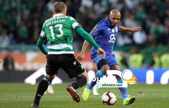 براهيمي يخسر مع بورتو كأس الدوري البرتغالي امام سبورتينج لشبونة 24