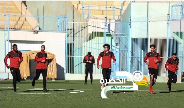 الأهلي يخوض تدريبه الأول في مدينة بشار 29