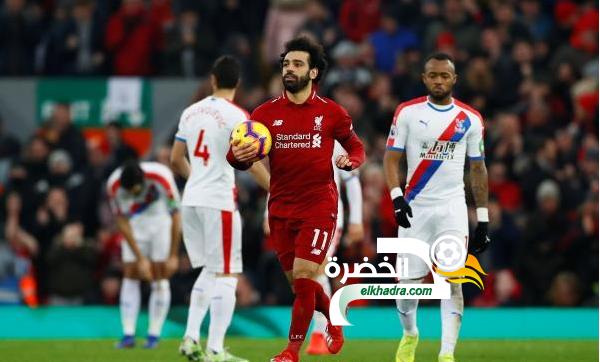 ليفربول يحقق فوزاً مثيراً على حساب ضيفه كريستيال بالاس 24