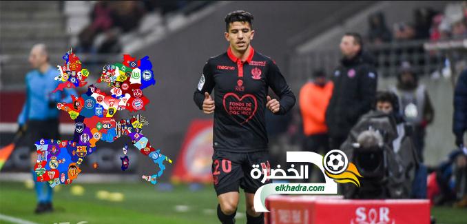 الجزائري يوسف عطال محل اهتمام توتنهام الإنجليزي 24