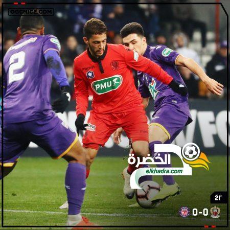 رفقاء يوسف عطال يودعون كأس فرنسا و أول مشاركة كأساسي لهذا الجزائري الشاب ! 25