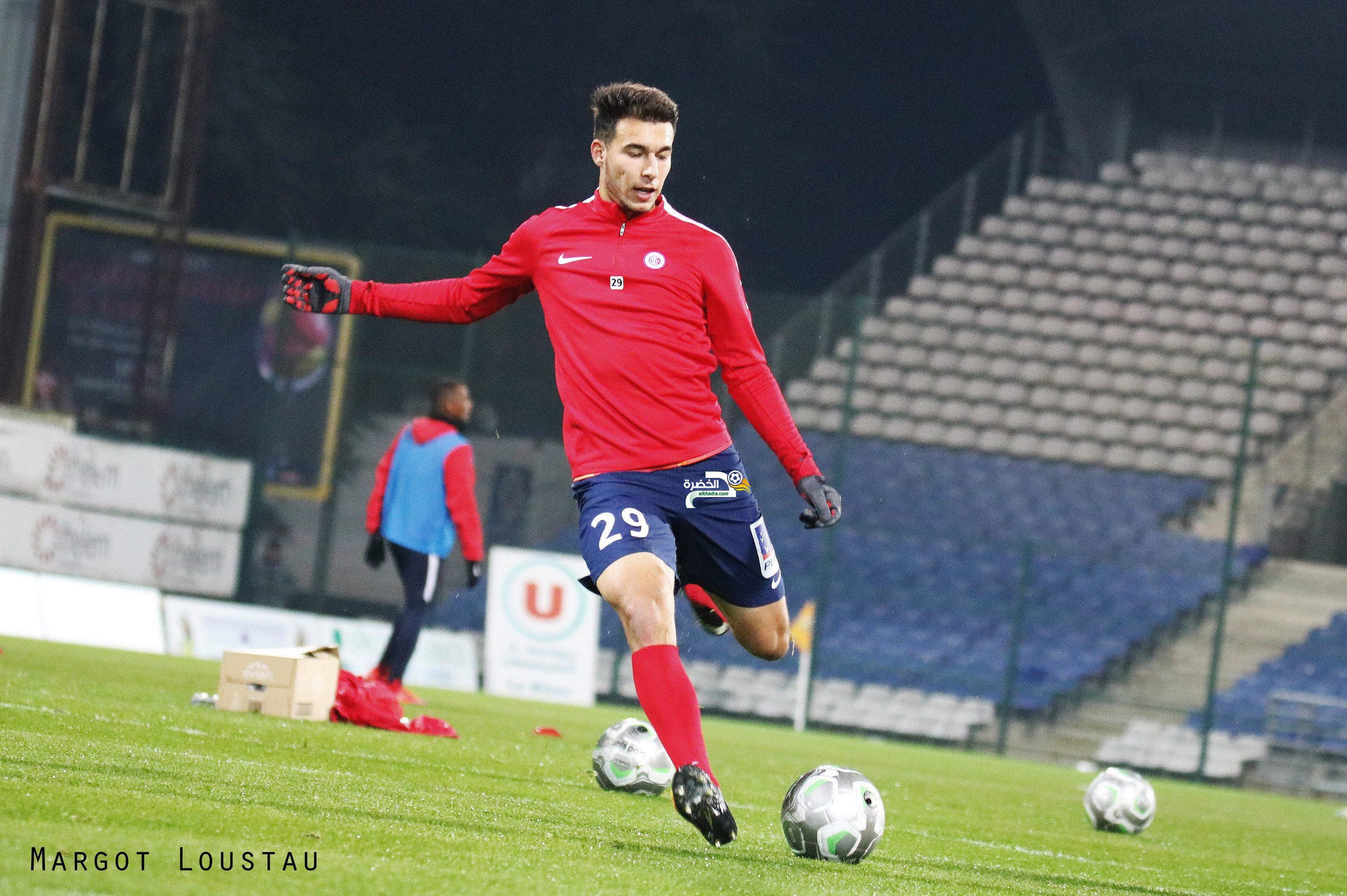 الموهبة الجزائرية مهدي مرغم قريب من الدرجة الأولى الفرنسية من بوابة هذا الفريق ! 24