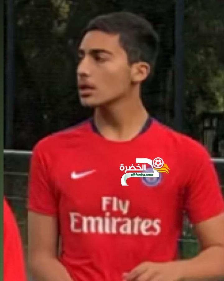 جزائري شاب في تجارب مع باريس سان جرمان ! 24