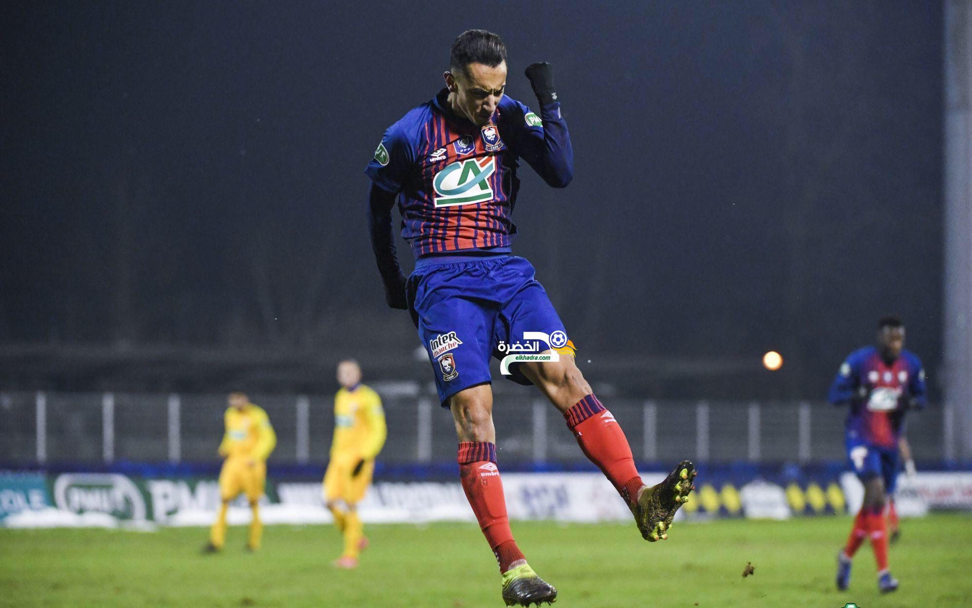 أول ظهور وأول هدف لهذا الجزائري الشاب مع فريق كان الفرنسي ! 24