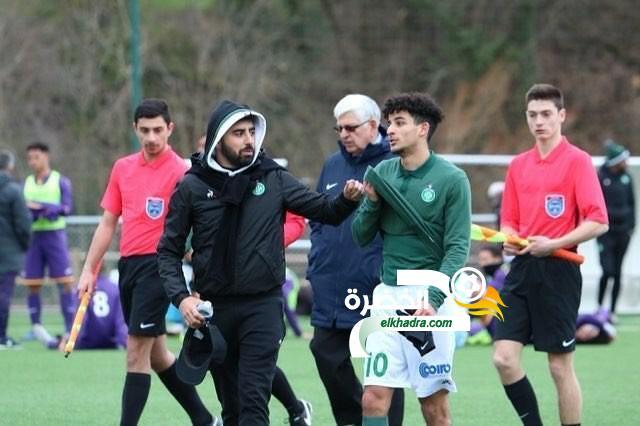 الجزائري الواعد بن خديم يتألق بثلاثية ضد تولوز ! 24