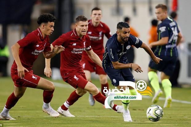موعد وتوقيت مباراة مانشستر سيتي وليفربول اليوم بتوقيت الجزائر 24