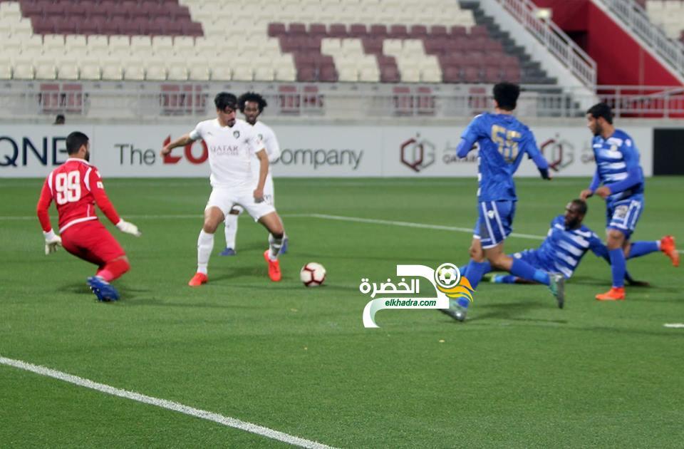 بونجاح يسجل هاترك ويقود ناديه السد للفوز على الخور 24