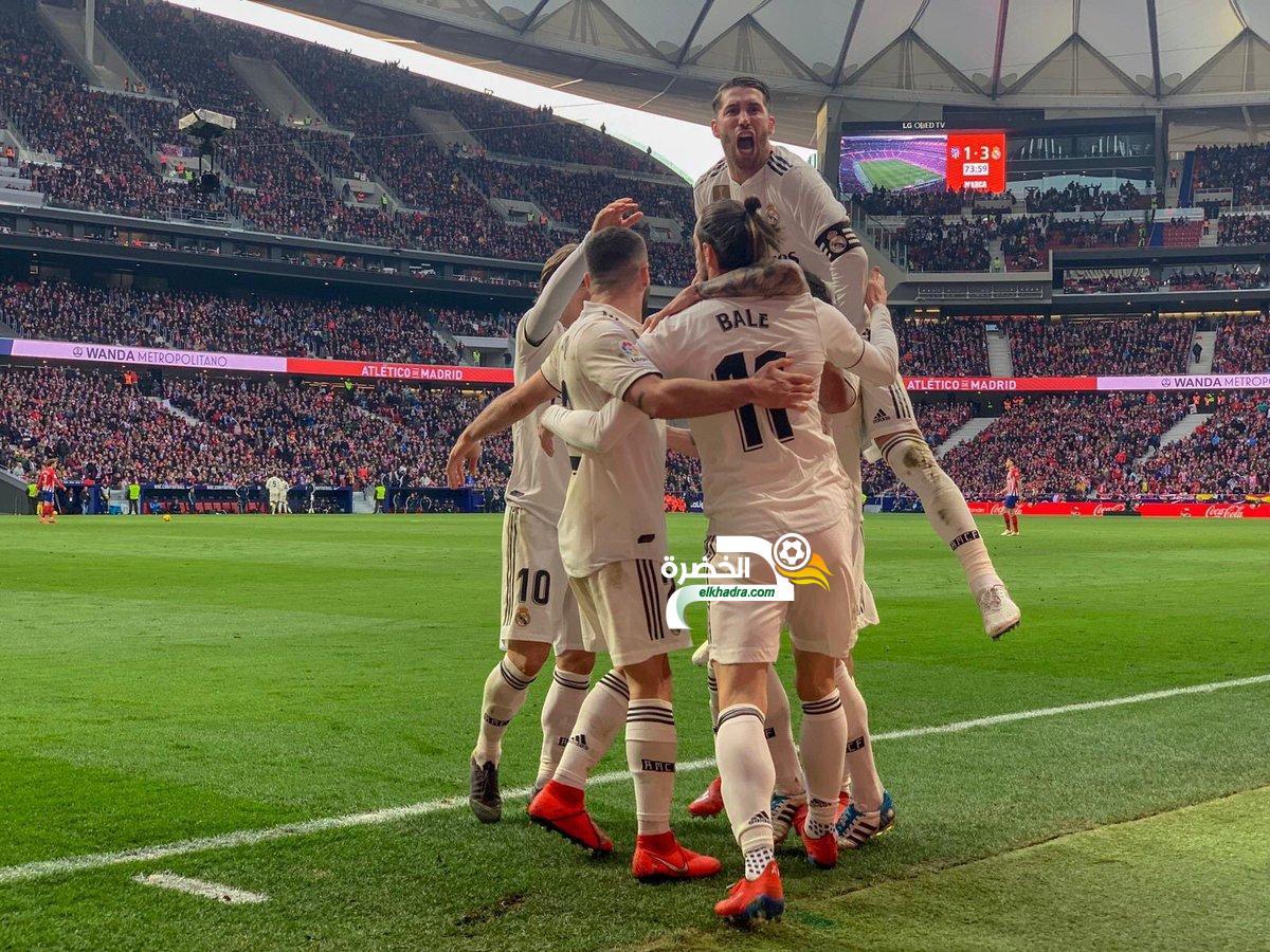 ريال مدريد يفوز على الاتليتيكو في ديربي العاصمة الإسبانية 24