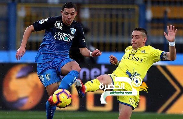 بن ناصر اساسي ويقود إمبولي لتعادل مثير أمام ضيفه كييفو فيرونا 24