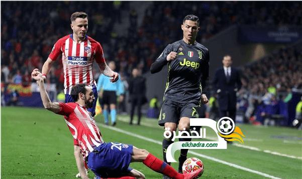 أتلتيكو مدريد يتغلب على ضيفه يوفنتوس 24