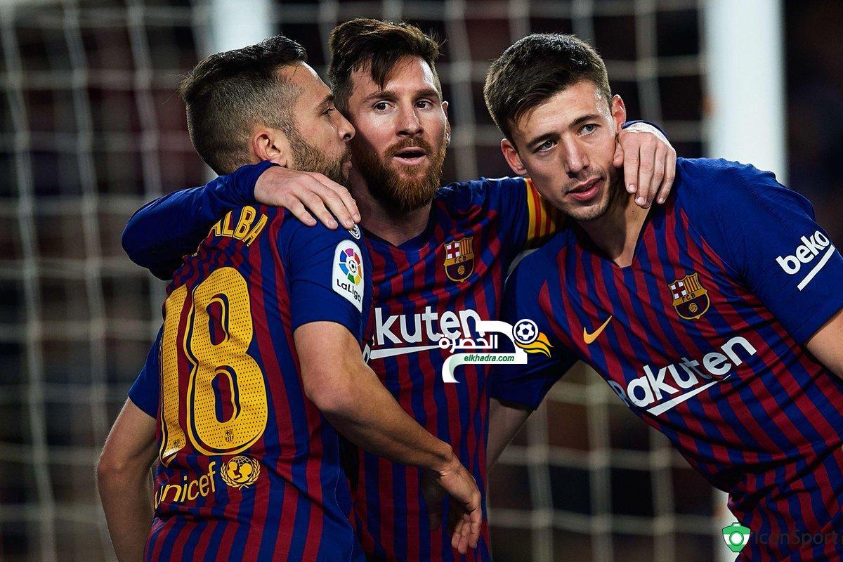 ميسي ينقذ برشلونة من الهزيمة أمام فالنسيا 29