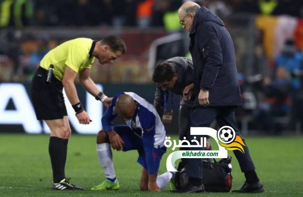 براهيمي يصاب واحتمال غيابه عن مواجهة تونس الودية مارس المقبل 28