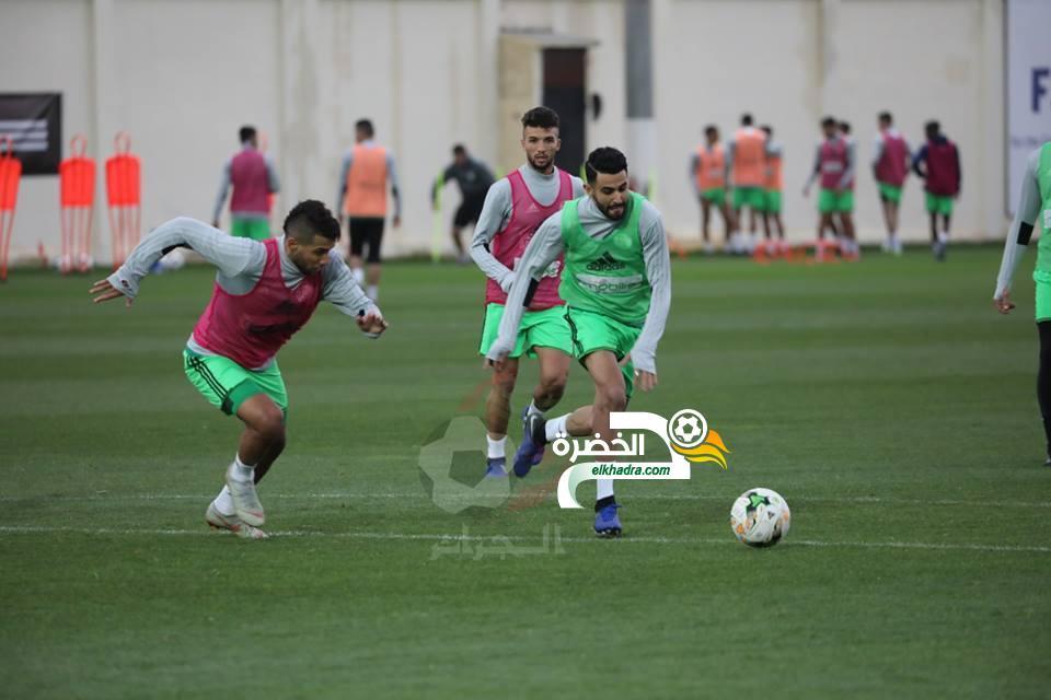 صور اخر حصة تدريبية للمنتخب الوطني قبل مباراة غامبيا 24