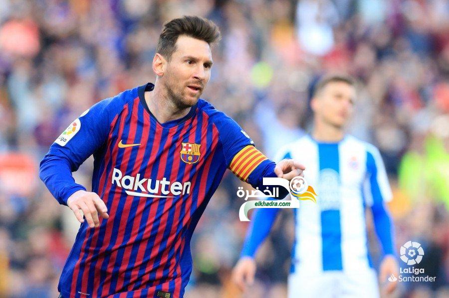 ميسي يقود برشلونة لحسم ديربي كتالونيا امام إسبانيول 24