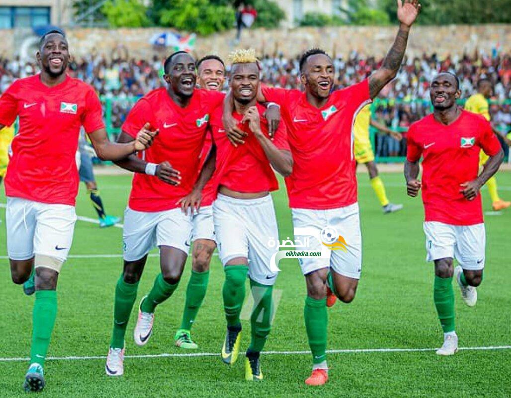 منتخبُ بوروندي يتأهل إلى نهائياتِ كأس أفريقيا للمرةِ الأولى في تاريخه 24