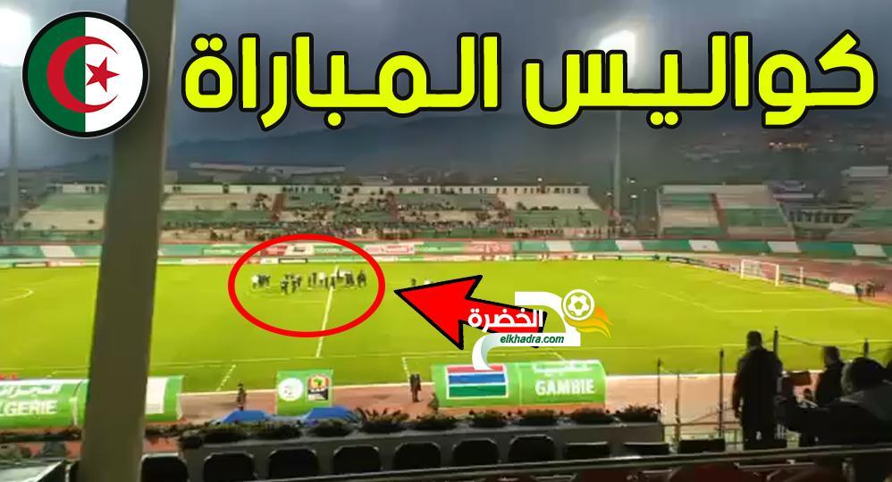 كواليس مباراة الجزائر غامبيا ما لم يشاهده الجميع و ردود الجماهير و تصريحات اللاعبين و المدرب 28