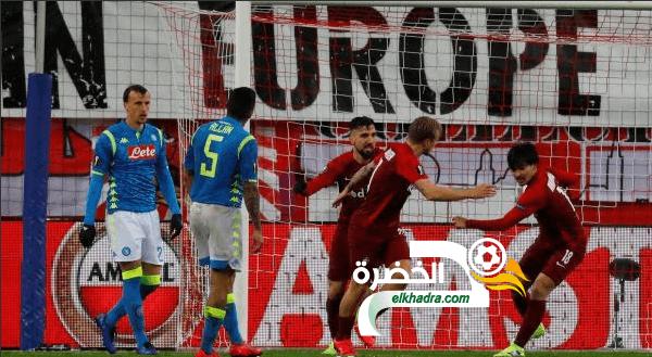 غلام واوناس إلى ربع نهائي الدوري الأوروبي مع نابولي 24