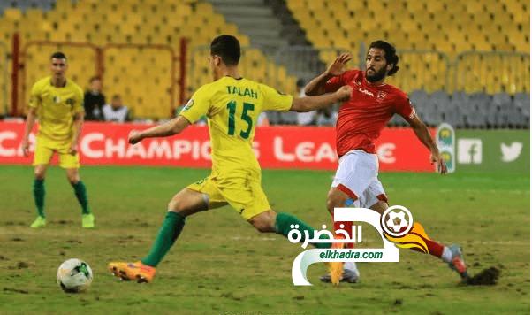 شبيبة الساورة يسقط امام الأهلي بثلاثية ويغادر دوري الأبطال 24