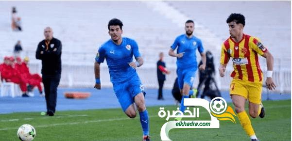 نصر حسين داي يتعادل امام الزمالك ويودع كأس الكاف 24