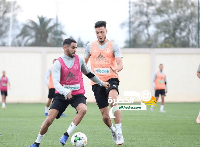 المنتخب الجزائري بتعداد مكتمل في أول حصة تدريبية بمركز سيدي موسى 24