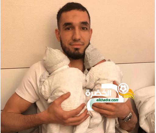 الجزائري نبيل بن طالب يرزق بتوأم 17