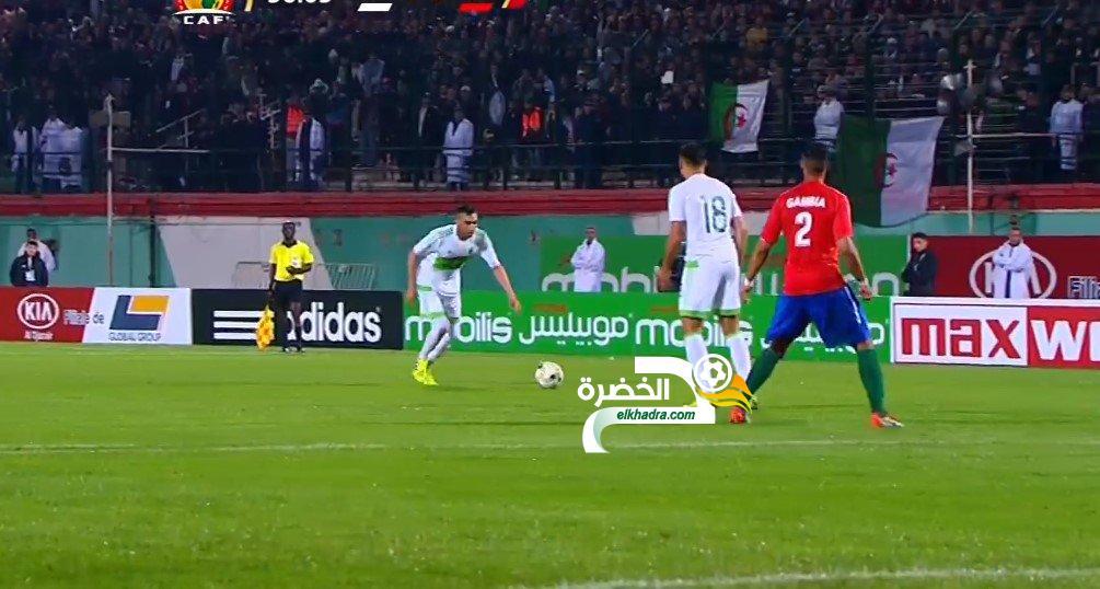 أهداف مباراة الجزائر وغامبيا 1-1 - جنون حفيظ دراجي - هدف قاتل في الوقت الإضافي 24