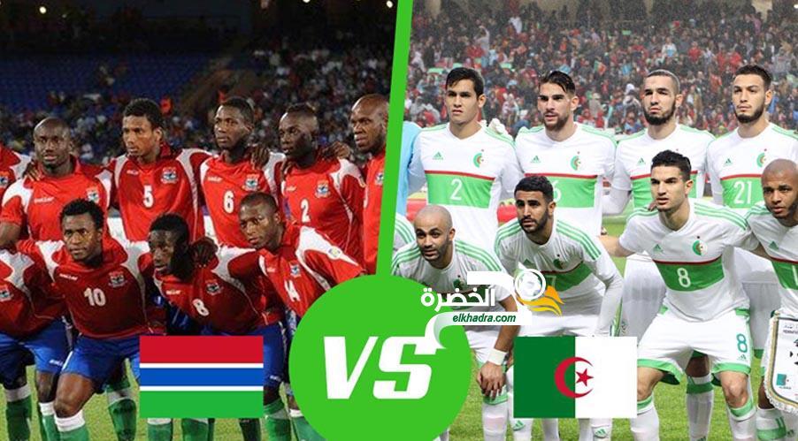 مباراة الجزائر وغامبيا  اليوم 22-03-2019 Algérie – Gambie 24