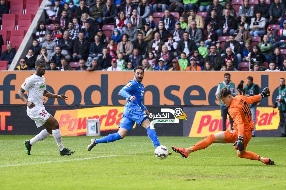 بلفوضيل يسجل هاتريك و يرفع رصيده الى 13 هدف في الدوري الالماني 24