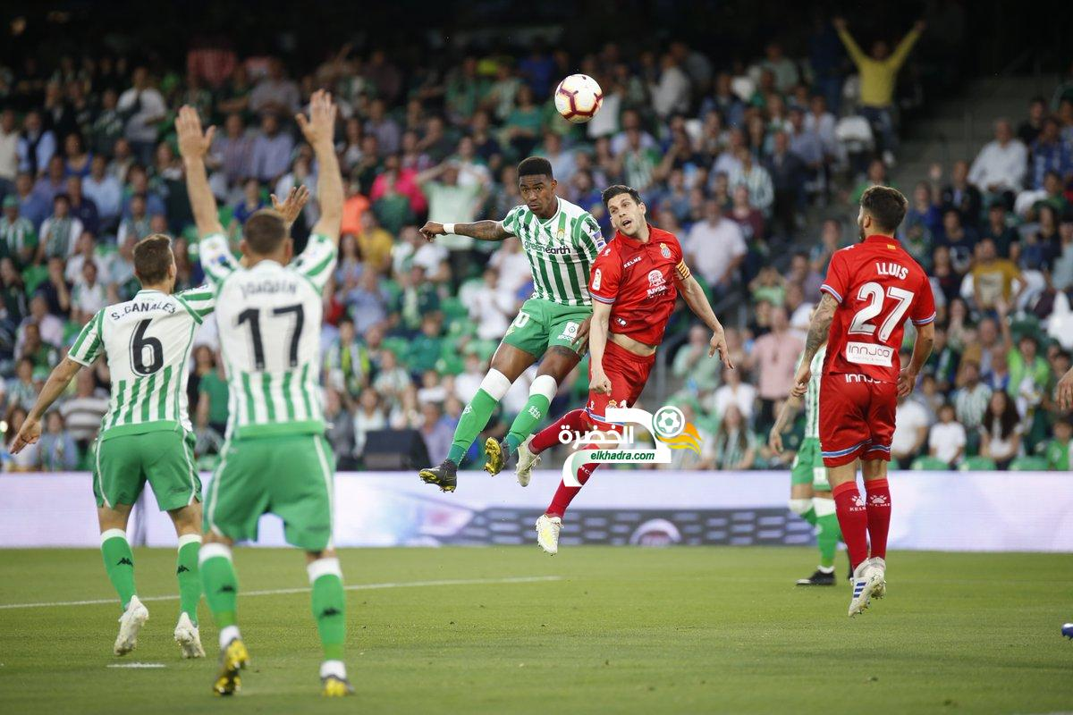 ريال بيتيس يتعادل على ملعبه أمام إسبانيول 24