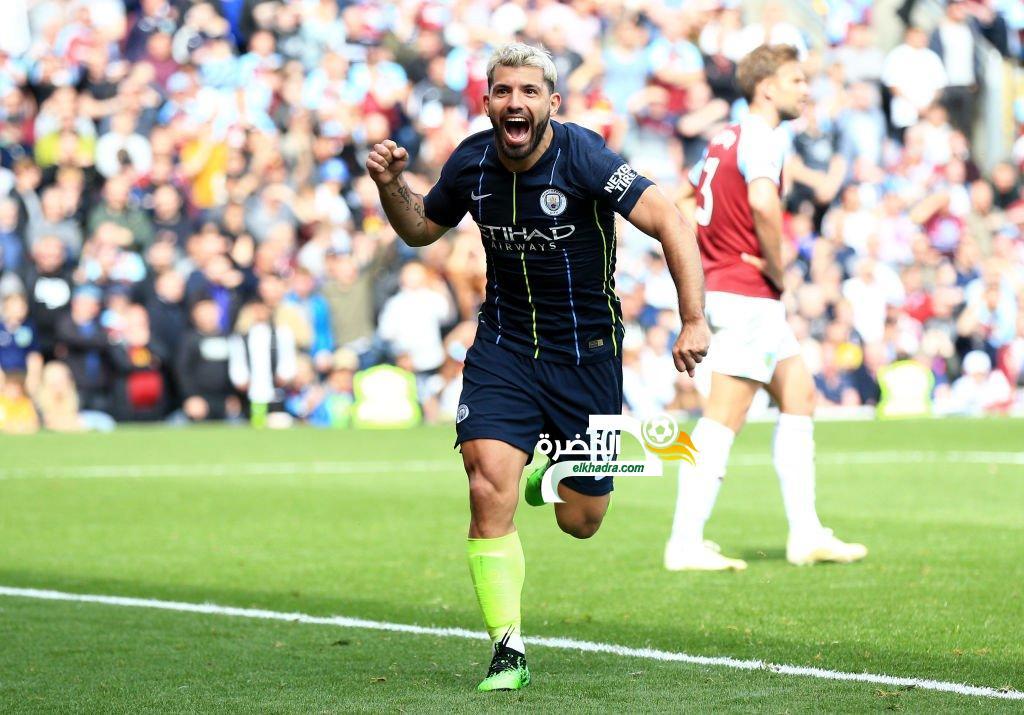 بيرنلي 0-1 مانشستر سيتي : الصدارة تعود لأبطال إنجلترا 24